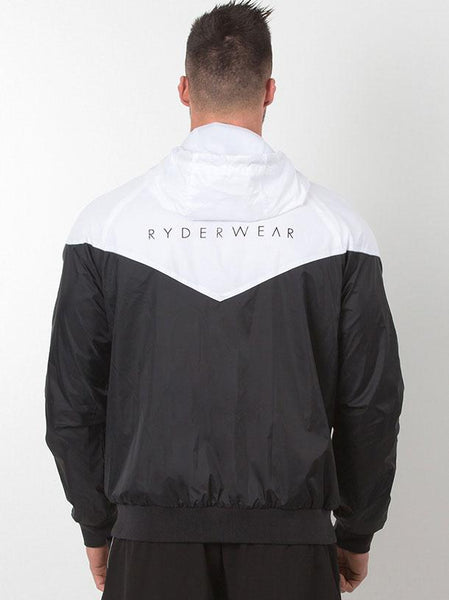 Action Jacket - Black/White