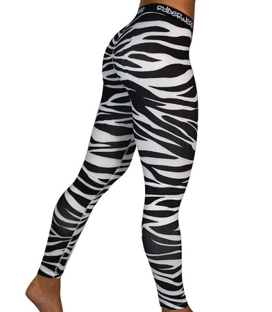 Animal Instincts Tights - Zebra