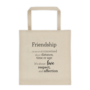 Friendship - Tote bag / Vinátta - Taupoki