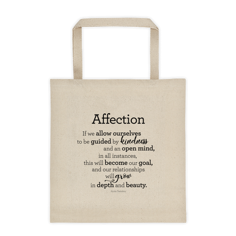 Affection - Tote bag / Kærleikur - Taupoki