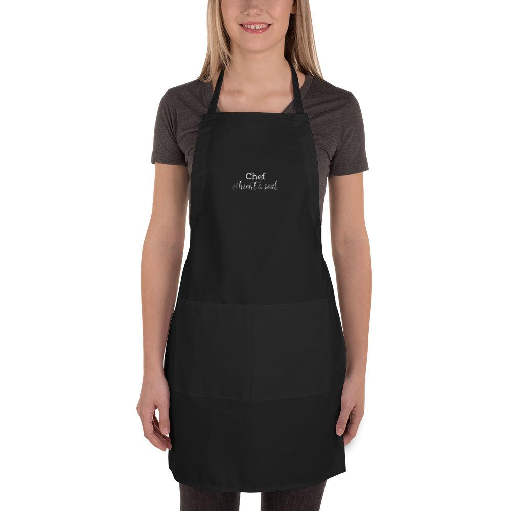Chef of heart & soul - Embroidered Apron