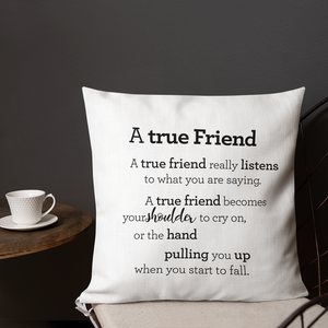 A true friend - Pillow / Vinátta - púði