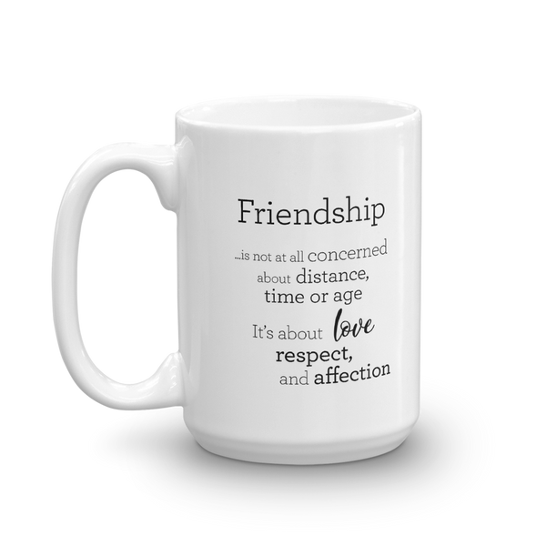 Friendship - Mug / Vinátta - Kanna