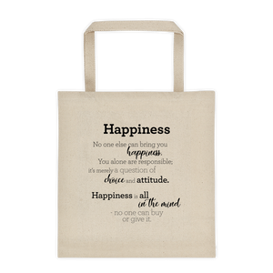 Happiness - Tote bag / Hamingja - Taupoki