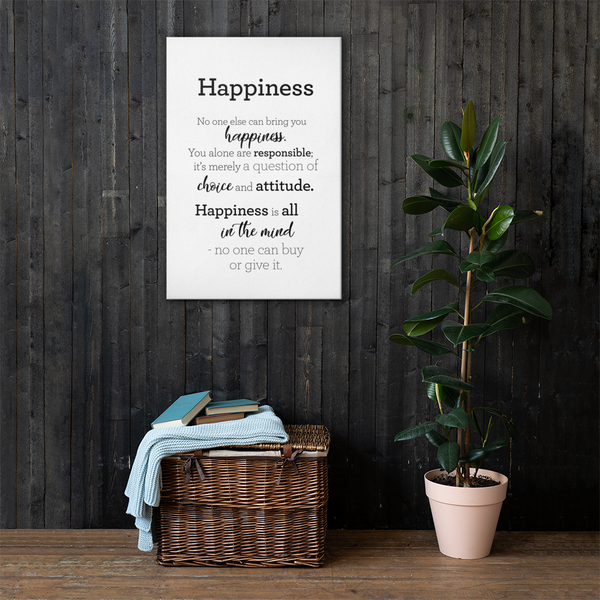 Happiness - Canvas / Hamingja - strigi