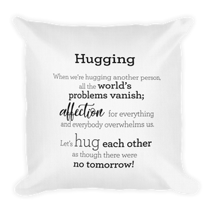 Hugging - Pillow / Faðmlag - Púði
