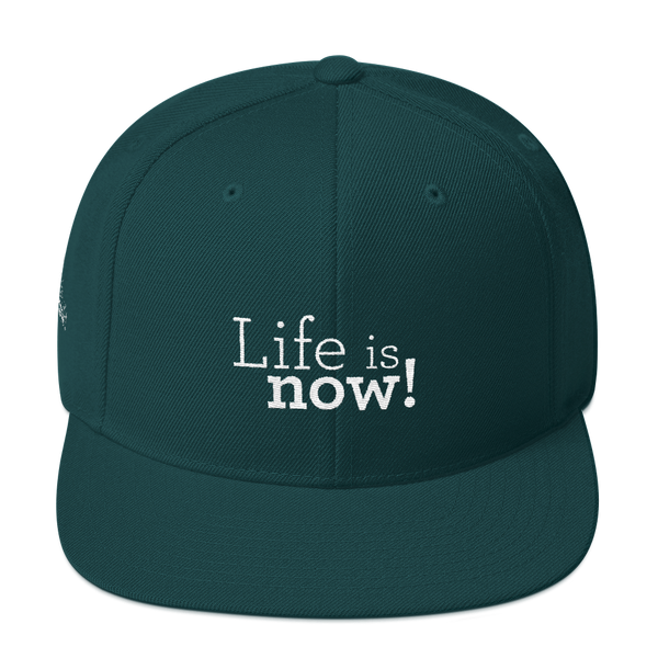 Life is now! - Yupoong Snapback
