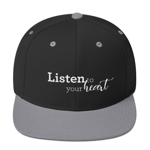 Listen to your heart - Yupoong Snapback