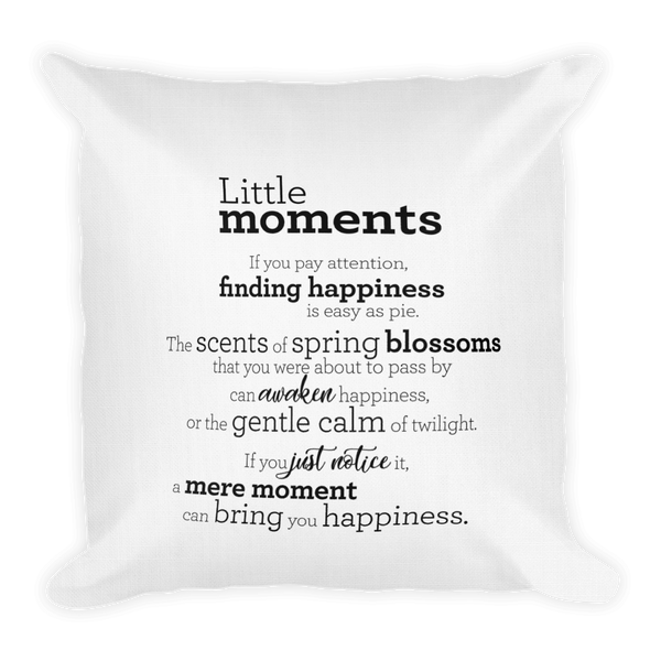 Little moments - Pillow / Litlu augnablikin - Púði