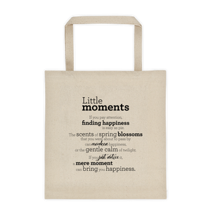 Little moments - Tote bag / Litlu augnablikin - Taupoki