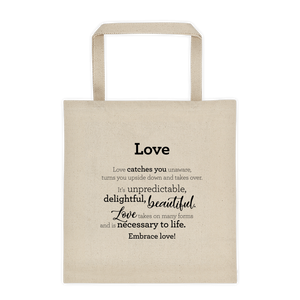 Love - Tote bag / Ástin - Taupoki