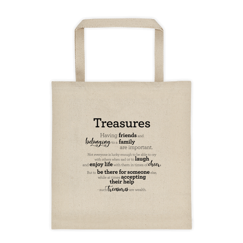 Treasures - Tote bag / Ríkidæmi - taupoki
