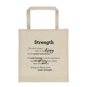 Strength - Tote bag / Styrkur - Taupoki