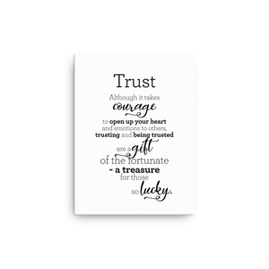 Trust - Canvas / Traust - Strigi