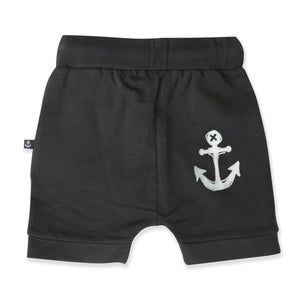 BLACK WASH ROCKY SHORTS