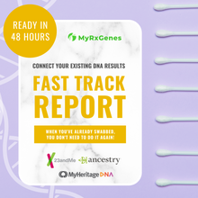 Load image into Gallery viewer, Fast Track Reports: Connect Existing 23&Me, AncestryDNA, + MyHeritage DNA