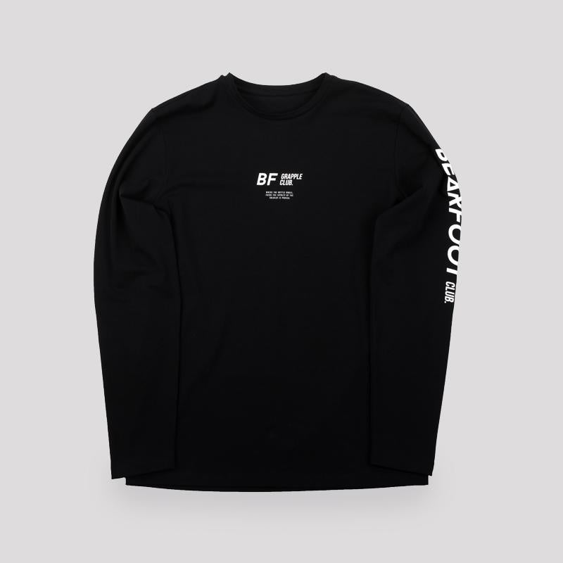 Bearfoot x Grapple Club Long Sleeved Tee