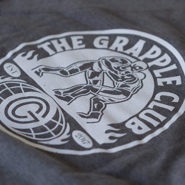 The Grapple Club - Vintage Sweatshirt - Athletic Grey