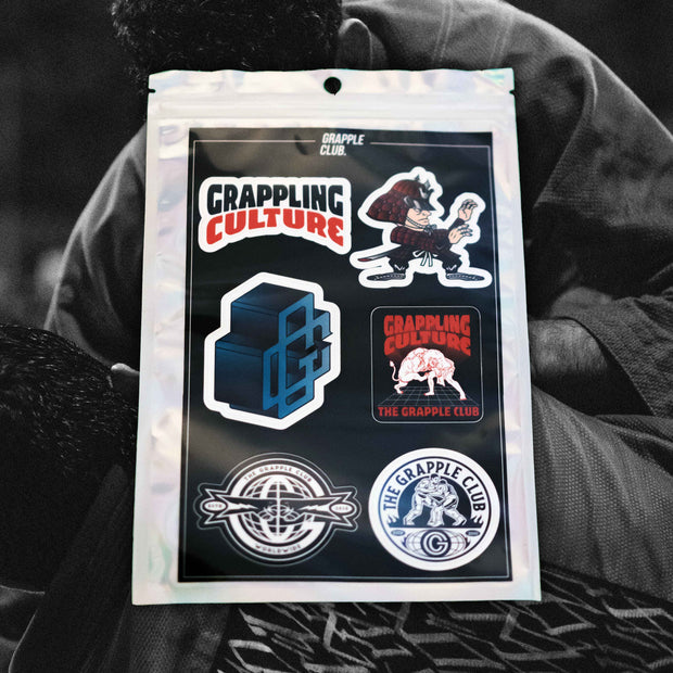 Grapple Club Sticker Pack
