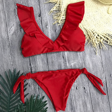Load image into Gallery viewer, Casuarina Halter Brazilian Bikini