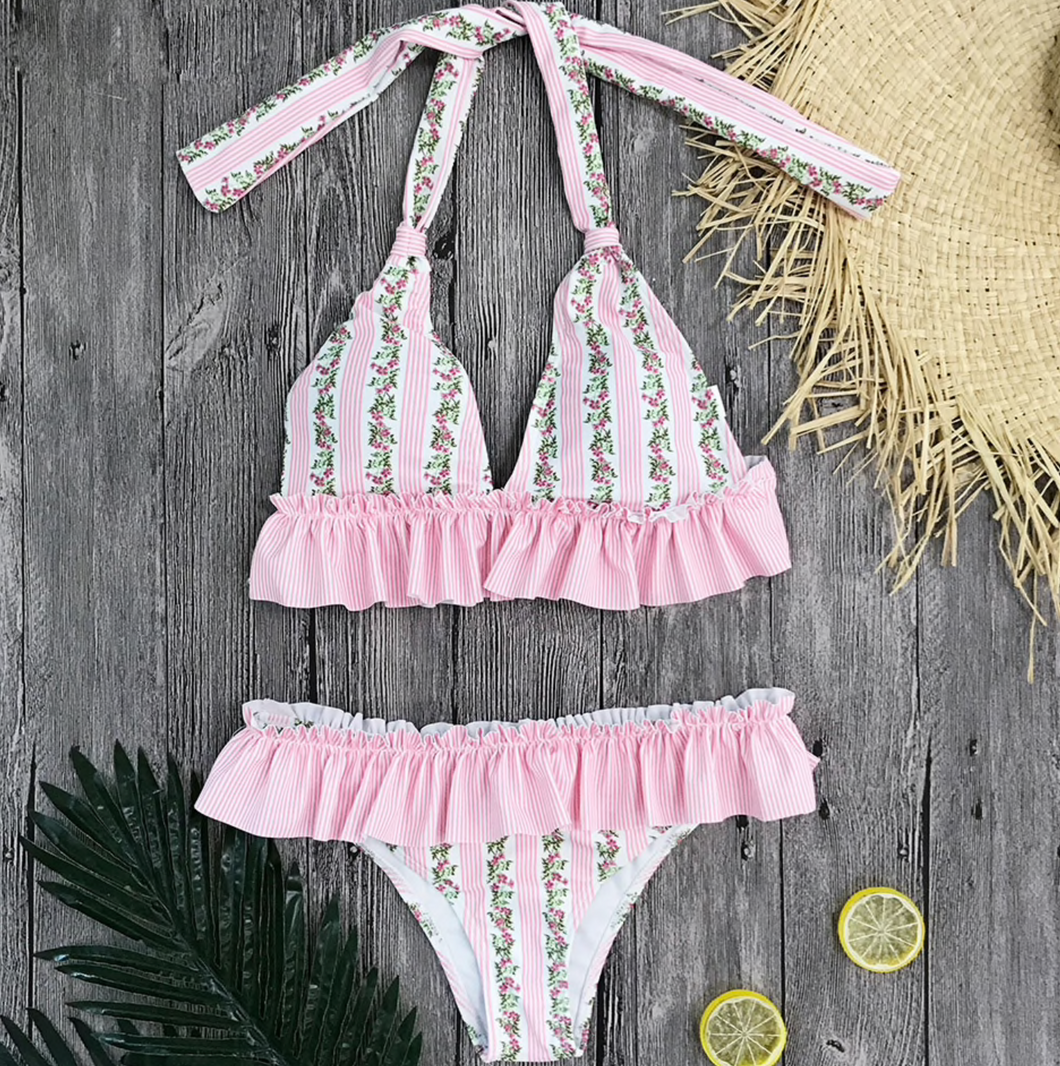 Blyth Brazilian Triangle Bikini SET