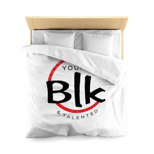 YB&T Microfiber Duvet Cover - Young Blk & Talented