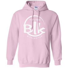 Load image into Gallery viewer, Young Blk & Talented White Splash Hoodie - Young Blk & Talented