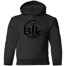 Load image into Gallery viewer, YB&T Blk Splash Toddler Pullover Hoodie - Young Blk & Talented