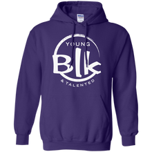 Load image into Gallery viewer, Young Blk & Talented White Splash Hoodie