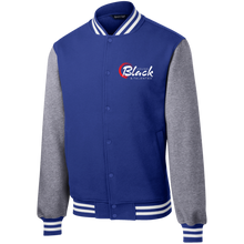 Load image into Gallery viewer, YB&T Classic Embroidered Letterman Jacket - Young Blk & Talented