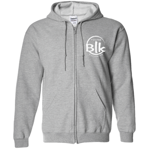 YB&T Embroidered Splash Hooded Sweatshirt - Young Blk & Talented