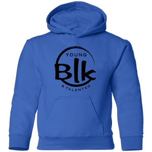 YB&T Blk Splash Toddler Pullover Hoodie - Young Blk & Talented
