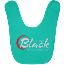 Load image into Gallery viewer, YB&T Classic BABYBIB Baby Bib - Young Blk & Talented