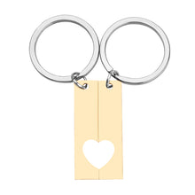 Load image into Gallery viewer, Stainless Steel Personalized Calendar  Keychain - Young Blk & Talented