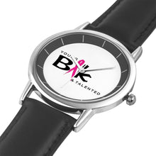 Load image into Gallery viewer, YB&T Special Edition Breast Cancer Time Pieces - Young Blk & Talented
