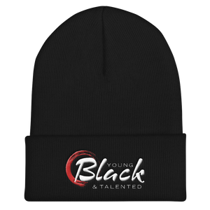 Young Blk & Talented Classic Cuffed Beanie - Young Blk & Talented