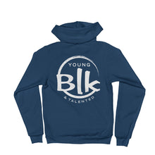 Load image into Gallery viewer, YB&T Splash Hoodie - Young Blk & Talented
