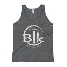 Load image into Gallery viewer, YB&T Unisex Tank Top - Young Blk & Talented