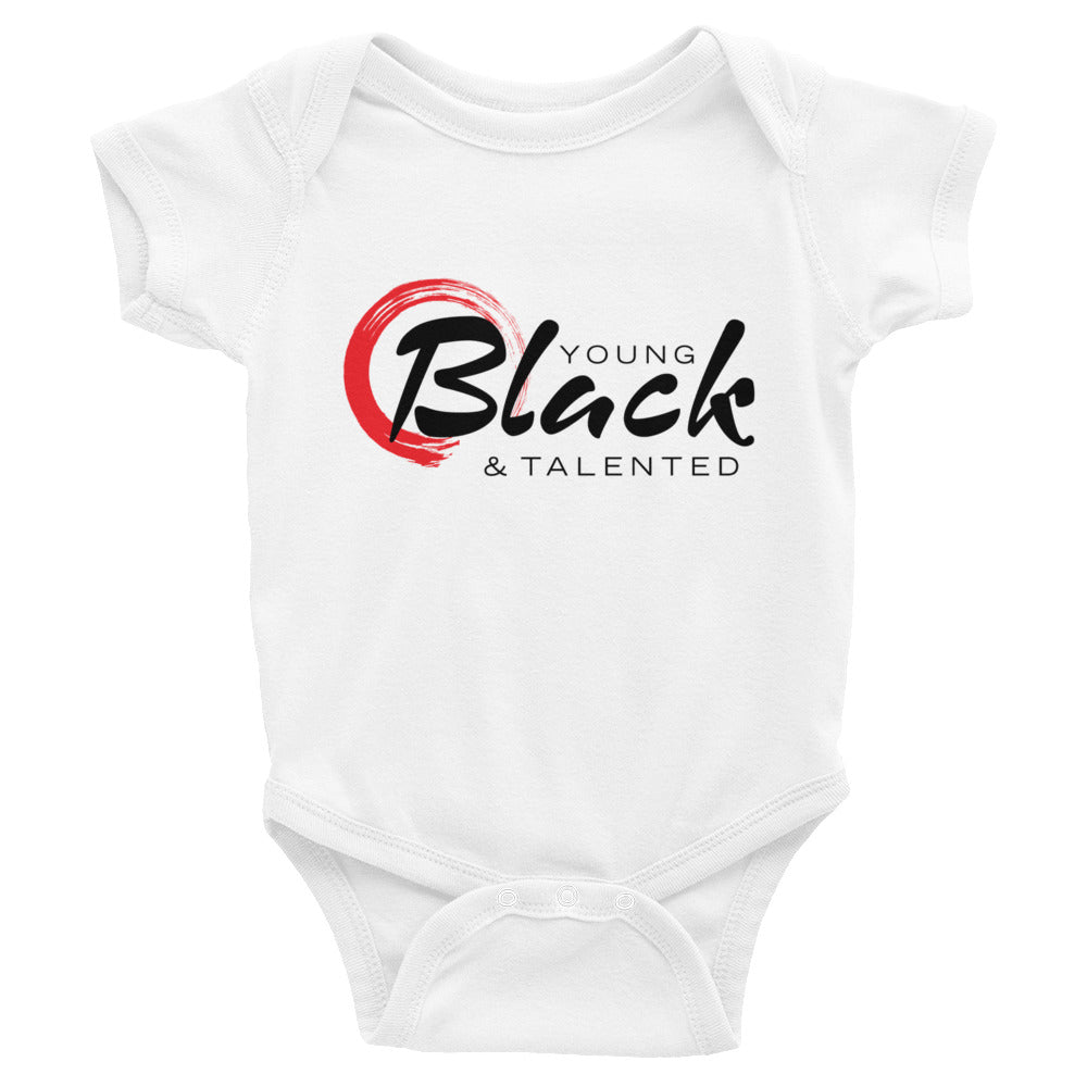 Classic YB&T White Infant Bodysuit - Young Blk & Talented