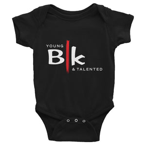 YB&T BLK Infant Bodysuit - Young Blk & Talented