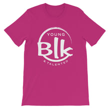 Load image into Gallery viewer, YB&T Short-Sleeve Unisex T-Shirt - Young Blk & Talented
