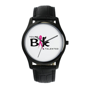 YB&T Special Edition Breast Cancer Time Pieces - Young Blk & Talented
