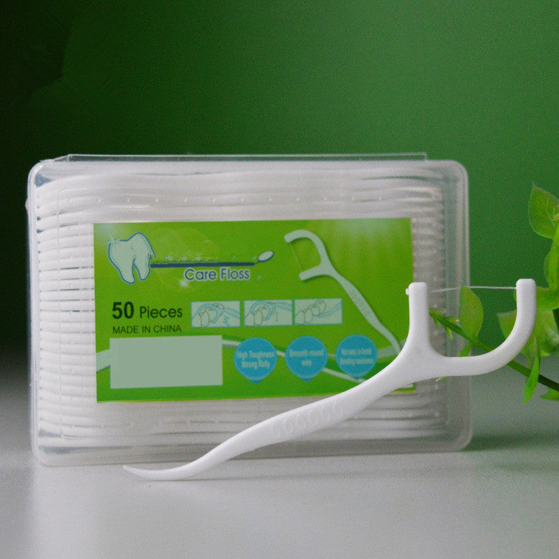 Dental Floss, EZ Dental Flossers, EZ Teeth/Toothpicks, For Sensitive Teeth and Gums