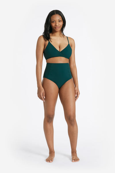 COCO BIKINI BOTTOM WITH POWER MESH