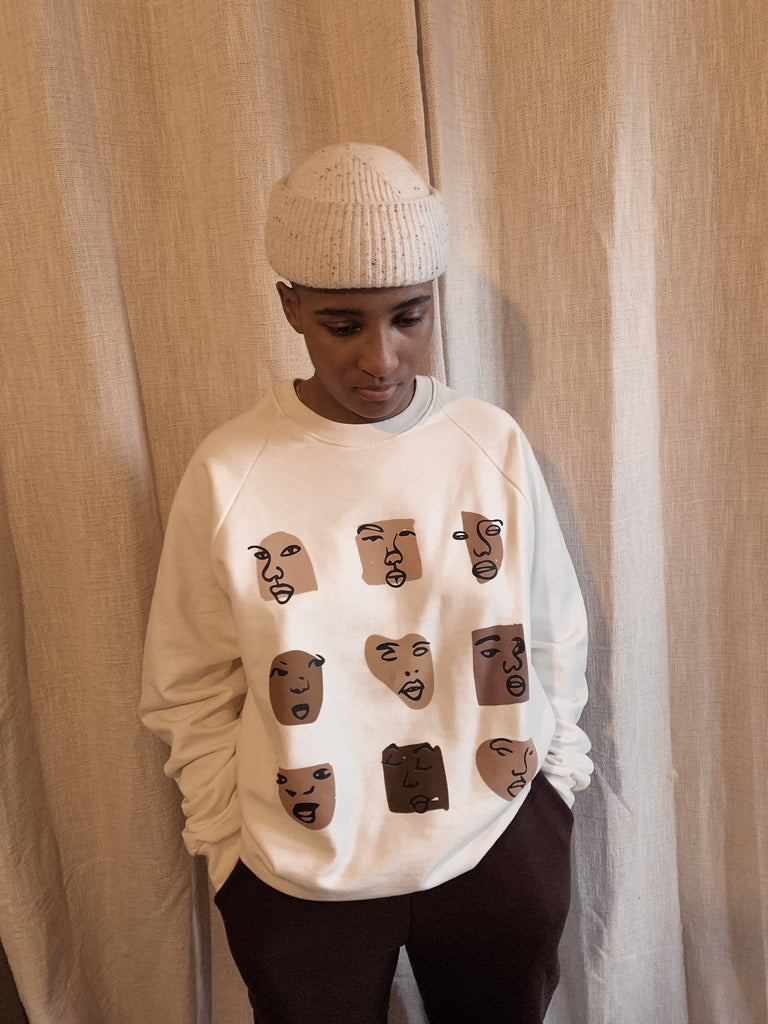 Brown Features Sweatshirt