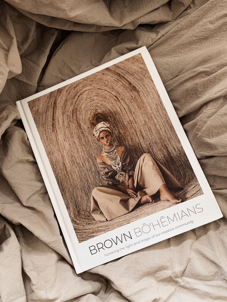 Brown Bohemians Coffee Table Book