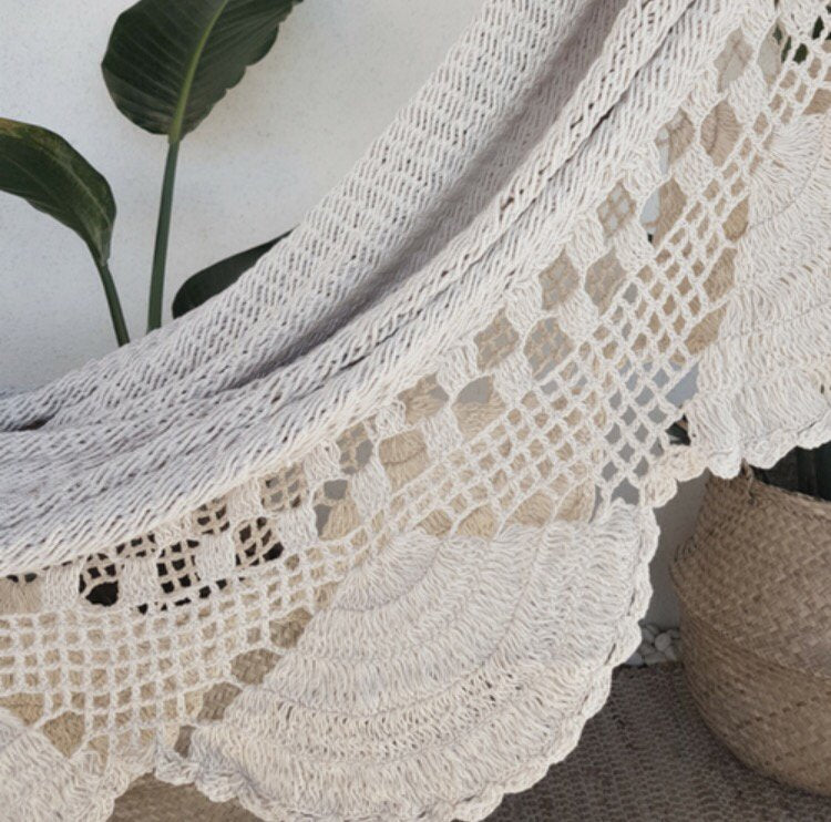 Crochet and Fringe Hammock