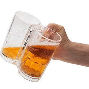 Double Fisting Beer Mug