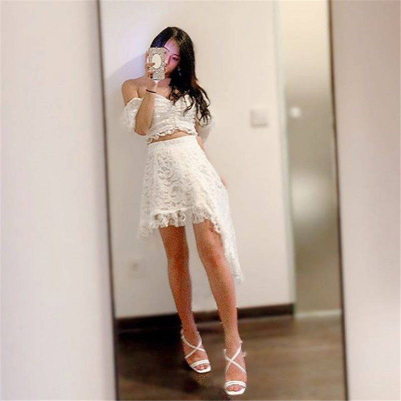 "[@0cmspring] ""LOTUS LEAF "" SKIRT W010339REVIEW"