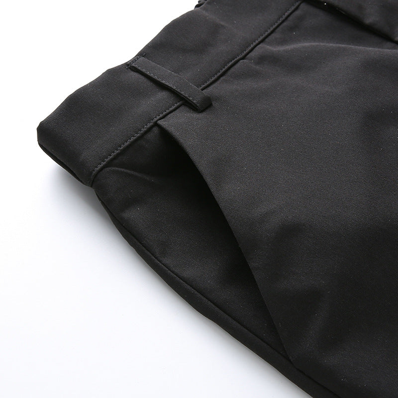 "[@mtkiseki] ""BLACK EMBROIDERED DRAGON"" CASUAL PANTS K081002REVIEW"
